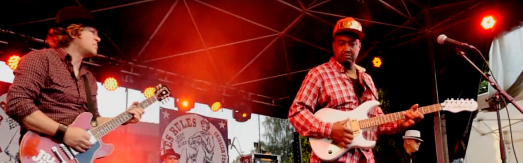 Janky Does Switzerland's Blues Rules Festival with Robert Kimbrough, Sr.