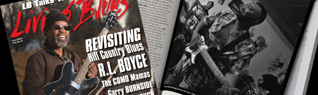Janky Pictured In Living Blues Magazine