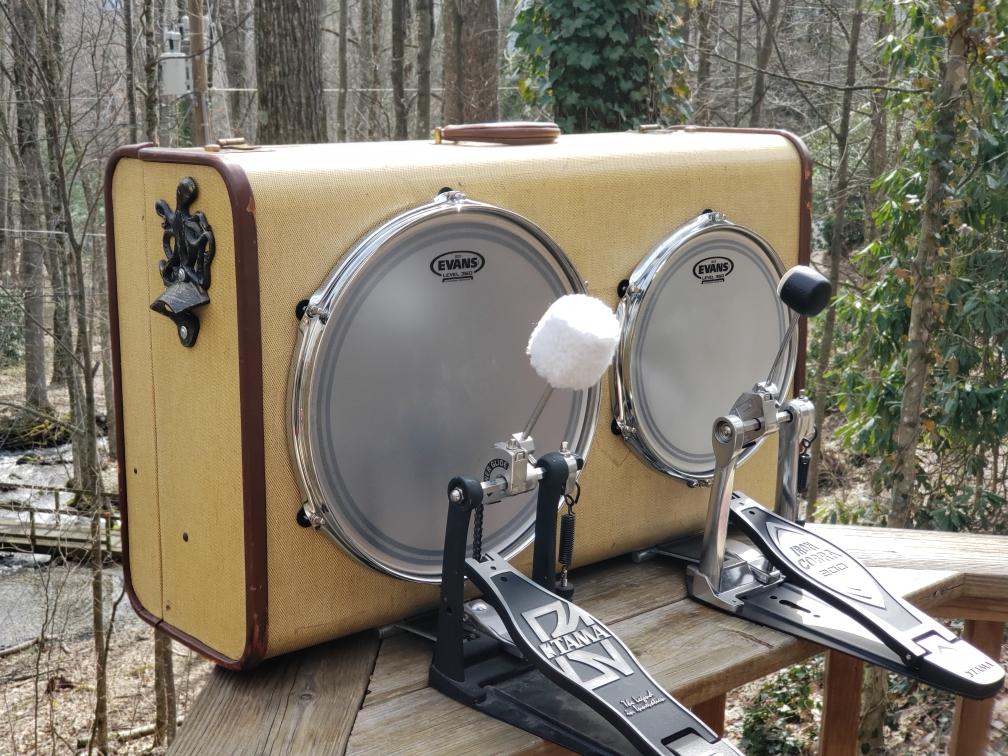 Danky Janky - One Man Band Drum Co Suitcase Foot Drum - Janky