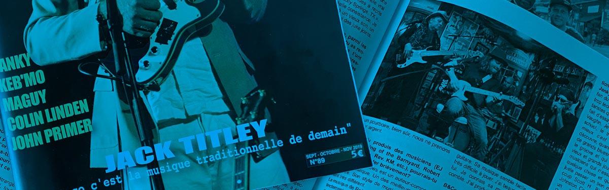 """Janky Blues & Co Le magazine """"Autrement Blues"""" Interview"""