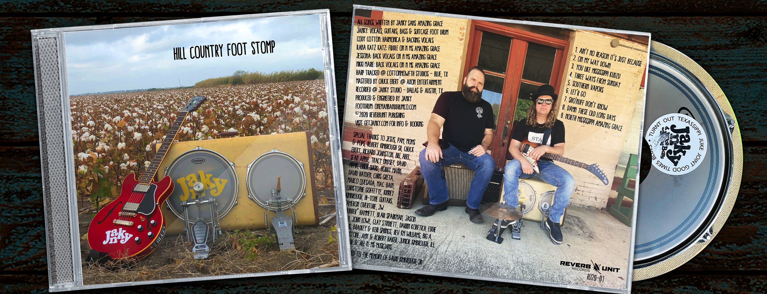 New Janky CD – Hill Country Foot Stomp